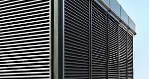 High Performance Rainproof Ventilation Louvres Idas